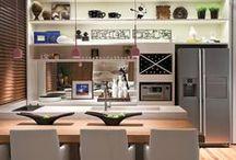 Cozinhas / Separei algumas cozinhas decoradas. Espero que gostem =D  Observação: Todas as imagens foram compartilhas no próprio Pinterest.