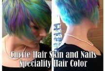 Speciality Hair color / Speciality hair color: highlights, balayage, pastels and more.