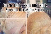 Bridal and Prom Styles / Bridal and prom styles- curls, long hair styles, braids, updos, www.curriedayspa.com