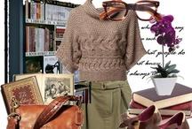 #Moda archivera y bibliotecaria / Archivist & Librarian fashion / Archivist chic Librarian chic / Porque ser fashion no está reñido con la biblioteconomía y la archivística Si quieres participar en el tablero, envíanos un mensaje / If you want to participate in this board send us a pm
