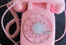 Old Telephones <3 / Rotary phones are THE BEST! / by Bridget