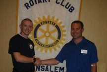 Rotary Club of Bensalem / Rotary's main objective is service — in the community, in the workplace, and around the globe. The 1.2 million Rotarians who make up more than 34,000 Rotary clubs in nearly every country in the world share a dedication to the ideal of Service Above Self.  Rotary clubs are open to people of all cultures and ethnicities and are not affiliated with any political or religious organizations.