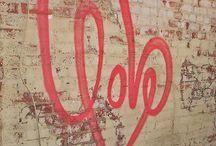 Pero el amor, esa palabra...