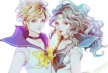 Sailor Neptune ❤️ Sailor Uranus