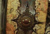 The #steampunk archives / Steampunk + librarían + books + records + nerd + geek / by Balduqueando 2.0