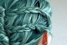 • Green Hair •
