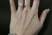 2 carat round cut engagement solitaire diamond ring /  2 carat solitaire diamond ring