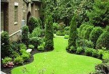 Inspirationsbilder / Inspiration och olika upplägg för trädgården