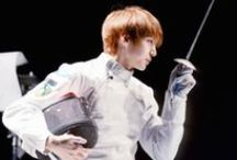 Taekwoon Fencing / Jung Taekwoon Fencing | Purely for reference purposes | Don't give me that look