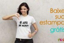 BAIXAR ESTAMPAS GRÁTIS / Baixe sua estampa grátis e compartilhe nossa companha com a #UmPouquinhoFazMal. E faça sua camiseta personalizada sem glúten, sem leite e sem corantes artificiais. Todo mês um estampa nova!