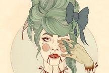 • Art by Liz Clements •
