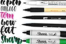 • Brush Pens •