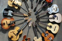 Guitars, Bass, and other fine instruments / by Daniel Clarke