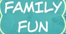Family Fun / Ideas for family activities and time together.  A family games night at home or day out, with toddlers or with teens.   Quotes about the importance of family and funny sayings.  Cause our families matter!
