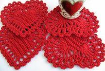 Coasters Crochet Patterns / https://www.etsy.com/shop/LyubavaCrochet / by Lyubava Crochet