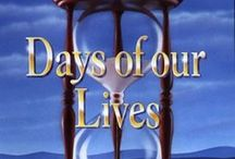 soaps (days of are lives) / NBC 11/8/65 salem (hortons, bradys, ruth & joe, hope & brady, marlena & john, maggie & victor, ej & sami, will & sonny, doug & julie) / by cindy allawat