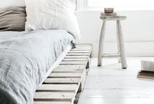 * create your own pallet bed