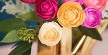 floral decorations / mooie creaties met bloemen en natuurlijke materialen
