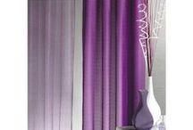 Rideaux / Tout l'univers du rideaux avec ses motifs et ses couleurs variées !