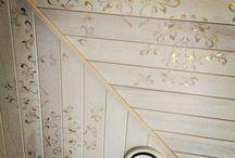 Декор потолка / Ideas the ceiling design.Идеи оформления потолка.