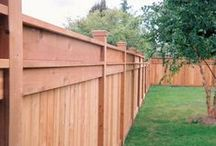 Wood Fence / Roma Fence carries a natural looking wood fence line.