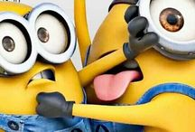 Minions / Little yellow guys from despicable me