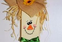 "Seasonal Crafts / Crafts for the changing seasons and different holidays.Things the ""GIRLS"" can get together and do! :-D"