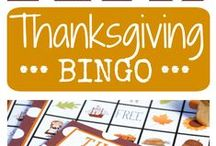 Thanksgiving: Books, Food and Crafts / Thanksgiving Fun