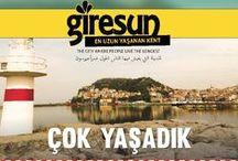 Giresunlular Çok Yaşar / Tuik 2014 verilerine göre en uzun ömürlü insanların yaşadığı şehir Giresun'dur.