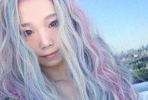 Beautiful Pastel Hair / My Pastel hair board! I love teh pastels! 8D