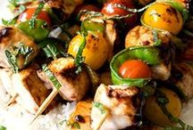 Cooked on a Stick - Skewers and Kebabs/Kabobs / by Memphis Wood Fire Grills