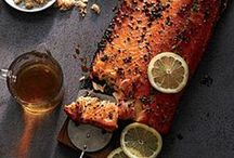 Savory Salmon / Grilled salmon is good for any occasion!