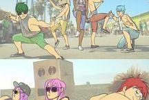 ♥ Kuroko no Basket ♥ / ٩(๑òωó๑)۶  Kuroko, Kise, Midorima, Aomine, Murasakibara , Akashi , Kagami ٩(๑òωó๑)۶ And others
