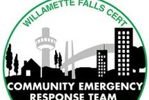 Emergency Preparedness / What do you need for a 72-hour kit? What do you do after a natural disaster? How do you volunteer for Willamette Falls' CERT?  Check here for emergency preparedness resources, geared towards Oregon City and Clackamas County residents.