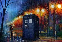 Doctor Who? / Doo wah Ooo! Oooo Wah Ooooooo!!! Oooooo wah Oooo-Oooo wah Ooooo!!! / by Emily P