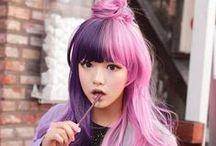 Harajuku Street Fashion / Japanese youth fashions from Harajuku.