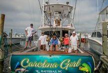 Fishing Hatteras Island / #fishing #fisherman #hatterasisland #epicshutterphotography #charterfishing #charterfisherman #seabearcharters #hatterasfever #fish #charterboat #springcleaning #sanding #paitining #tourism #charters