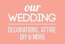 Our Wedding - Inspiration / Wedding decor and inspiration for our 2017 wedding! Bookish, outdoorsy, and low-key.