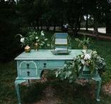 Nostalgia Rentals - Lincoln, NE / Wedding decor and inspiration from Nostalgia Rentals in NE for our 2017 wedding! Bookish, outdoorsy, and low-key.