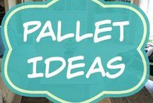 Pallet Ideas / Easy DIY pallet projects and tutorials, for kids outdoor furniture, as well as children's play house, kitchen, bed, table, chair, toy or desk.   Free or low budget ideas.
