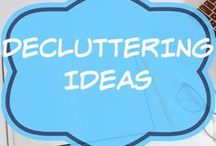 Decluttering Ideas / Feeling overwhelmed? Life hacks and tips for simple living and a clutter free home.  Declutter and organize your bedroom, kitchen, closet, wardrobe or kids rooms including toys and clothes.  Checklists.  Minimalism with children.  Moving house or down sizing.  Motivation Quotes.