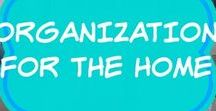 Organization Ideas For The Home / organize your life | busy | time management | ideas | calendar | planner | chart | dollar stores | mom life hacks | tips & tricks | DIY | binder | solutions | apps | magazine holders | board | free printables | home management system | 101 | paper clutter | families | daily to do list | weekly | monthly | yearly | command hooks | goal setting | small spaces | smart goals, drawer dividers, budget, simple, easy, awesome, life, track, declutter, organised housewife, laundry, kids,