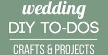 Wedding DIY To-Dos (Crafts and Projects) / There are so many amazing wedding decorations, centerpieces, gifts, and more that you can create! Find do-it-yourself projects and inspiration for your big day.