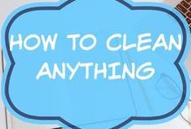 How To Clean Anything / home cleaning hacks | cleaning tips | schedules | cleaning ideas | check lists | daily | weekly | yearly tasks | chore charts | walls | oven | kitchen cabinets | life hacks | good to know | bedroom | sneakers | shower | bathtub | for the home |