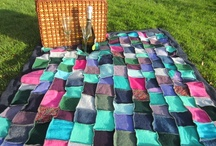 Blankets and Bedspreads / The Woolly Pedlar upcycles blankets, picnic rugs and settee throws from quality, locally sourced, recycled knitwear. I can also make to order to the colouring of your choice. Do get in touch
