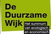 De Duurzame Wijk // Le Quartier Durable  / Het summum van ecologisch en economisch wonen. // Le summum de l'habitation écologique et économique.