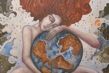 Love and Heal Our Earth / My first priority: ' Heal yourself and you will help the world.'