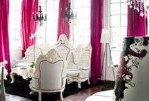 Dinning /Eating Areas  / As I was growing up I was lucky enough that my parents gave me a beautiful home, we had a lovely dinning room and my Mom filled it with beautiful things. Here are dinning rooms I adore, / by FannyBanana
