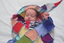 Kids and Babies / The Woolly Pedlar uses locally sourced recycled knitwear to keep your little ones warm and cosy whilst reducing the drain on the planet's resources