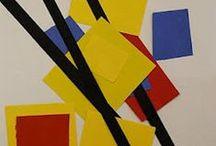 Kunst - Ideen : Piet Mondrian
